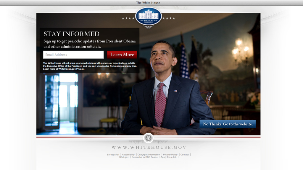 white-house-landing-page