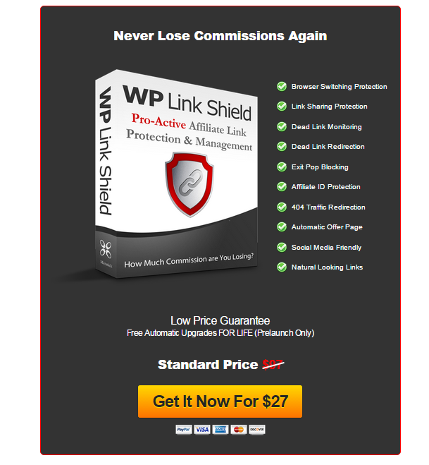WP Link Shield - Plug The Leak In Your Wallet