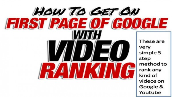 rank youtube on page one google