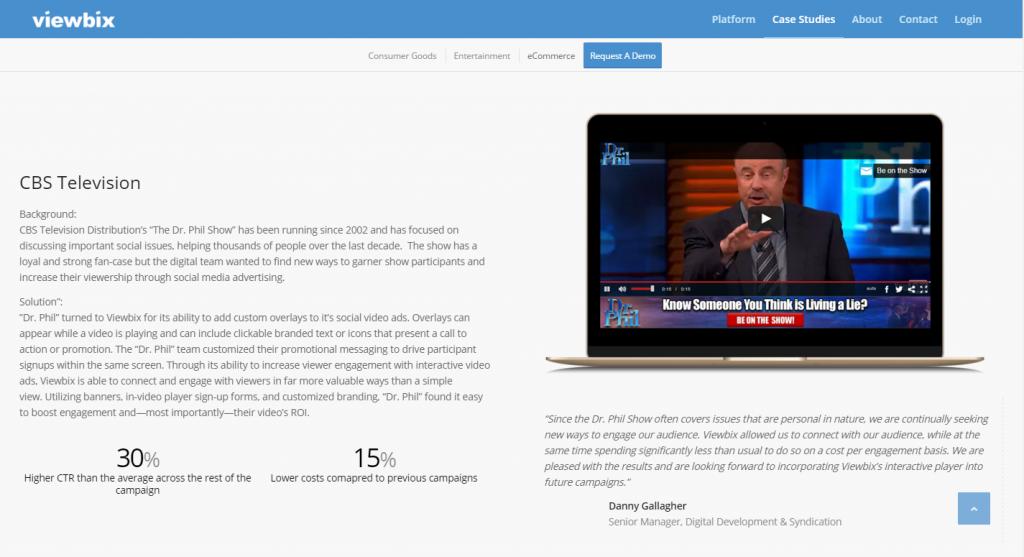 FireShot Capture 60 - Viewbix I Case Studies - CBS Television