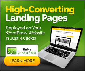 Landing Pages for WordPress