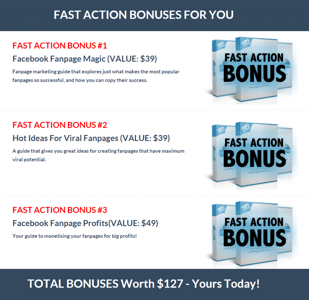 WP Fan Machine 2.0 - bonuses