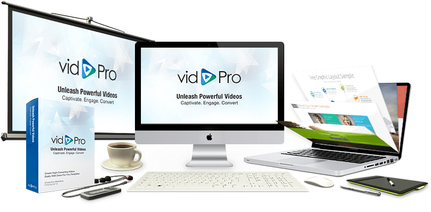 vidpro review light-dark template