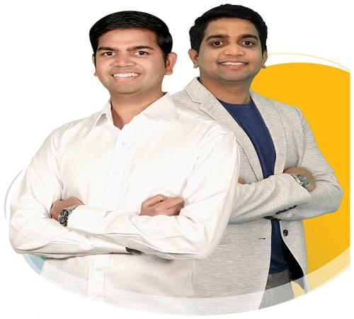 Creators of Avatar Builder Paul Ponna & Sid Diwar